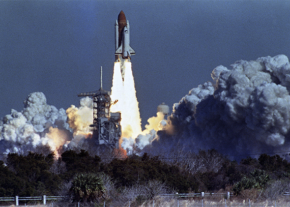US space shuttle Challenger