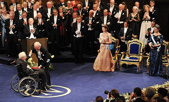 The Nobel Prize Awards Ceremony in 2011.