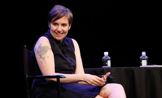 Filmmaker and actress Lena Dunham.