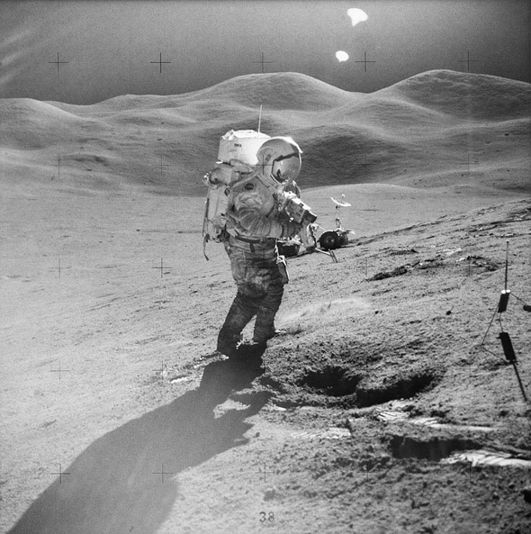 Apollo 15 mission image.