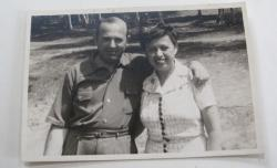 Eva Rosencrans and her husband, Alvin Rosencrans, in an undated snapshot.