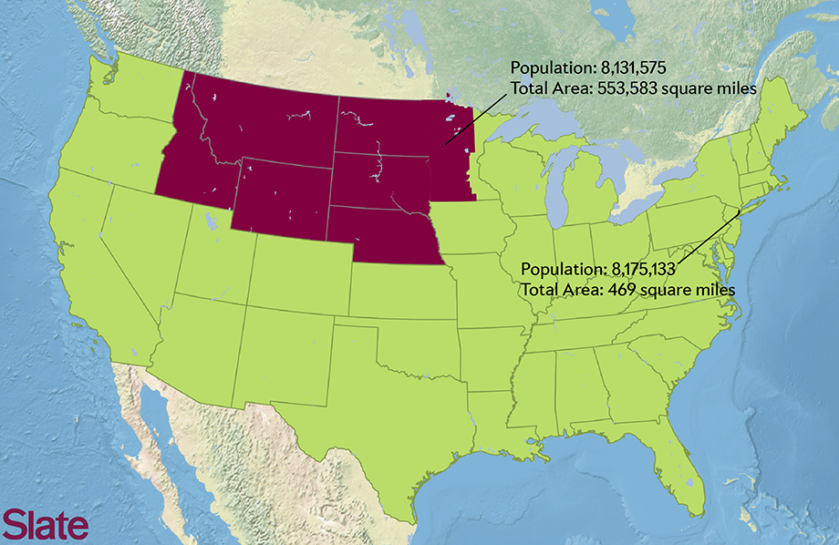 Population Map Use Our Interactive Map To Figure Out How Many - New York On Us Map