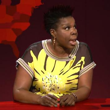 Leslie Jones on Weekend Update