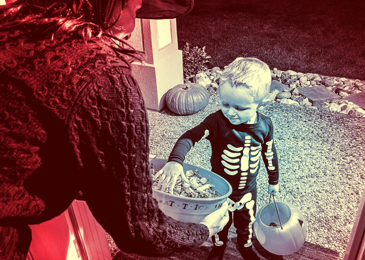Dear Prudence: On Halloween, poor kids come to trick-or-treat in ...