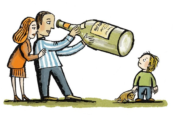 an analysis of the effects of parental alcoholism on children