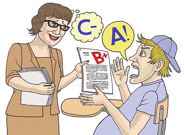 Why professors inflate grades Because their jobs depend on it
