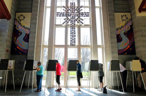 Episcopal Church, primary election
