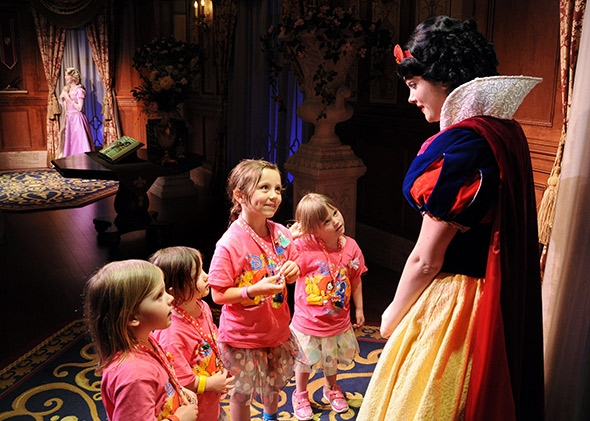 Image result for princess fairytale hall disney world