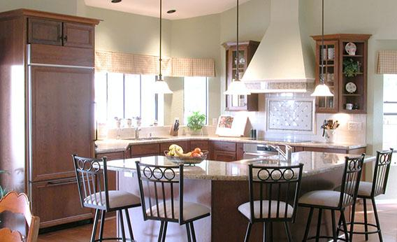 An Open Concept Kitchen.
