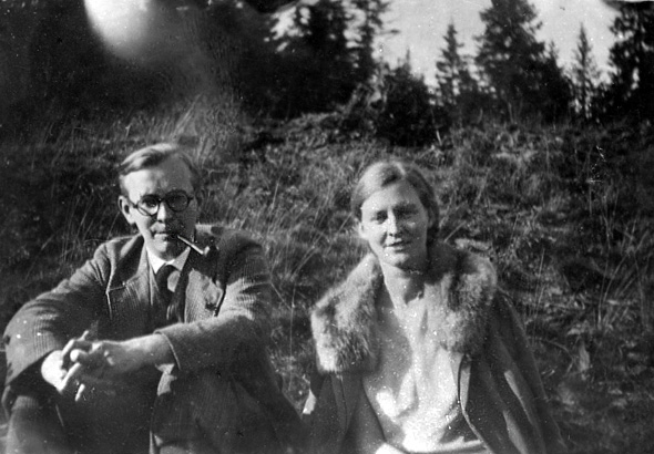Arvid and Mildred Harnack.
