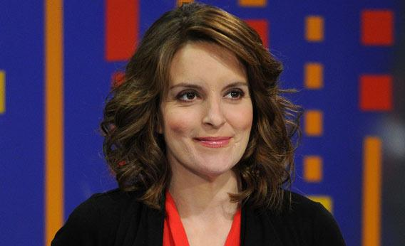 Actress Tina Fey.