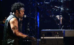 Singer D'Angelo performs onstage during the 2012 BET Awards at The Shrine Auditorium on July 1, 2012 in Los Angeles, California.