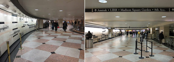 Why are the signs at New York's Penn Station so confusing?