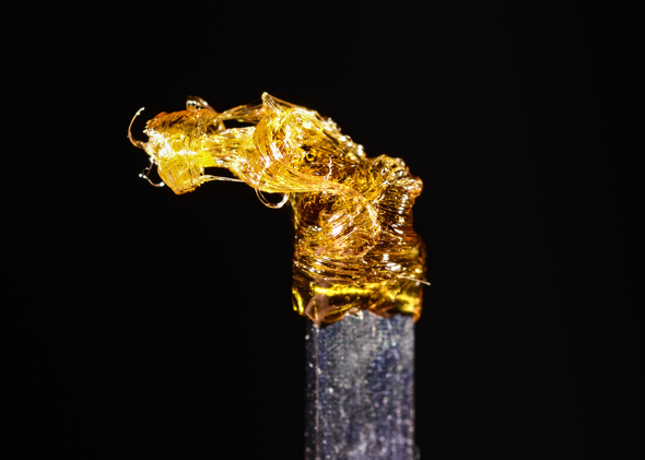 Darkside shatter dab, made by TC Labs for Natural Remedies in Denver, CO.Darkside shatter dab, made by TC Labs for Natural Remedies in Denver, CO.