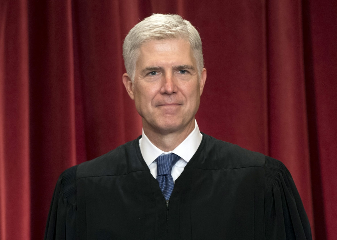 US Supreme Court Associate Justice Neil Gorsuch