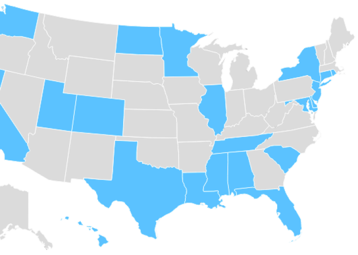 Gun Control Laws By State Mapped