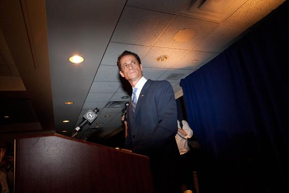 If You Don't Want To Forgive Anthony Weiner, Do It For His Wife.