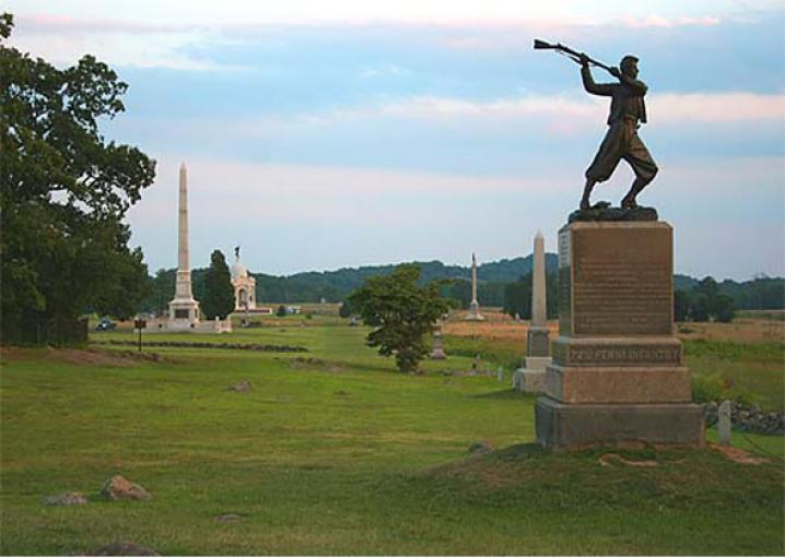 Civil War historical markers: A map of Confederate monuments, and Union ones too.