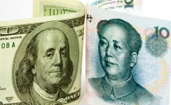 US Dollar and Chinese Yuan.