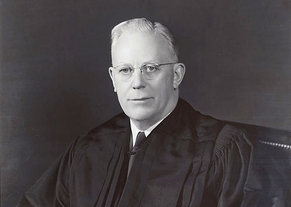 Chief Justice Earl Warren.