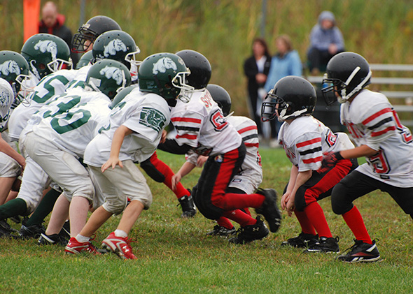 football is dangerous One reason football is too dangerous for children to play is because of chronic traumatic encephalopathy, otherwise known as cte it is a deadly brain disease that can develop from the repetitive hits and tackles young football players experience.