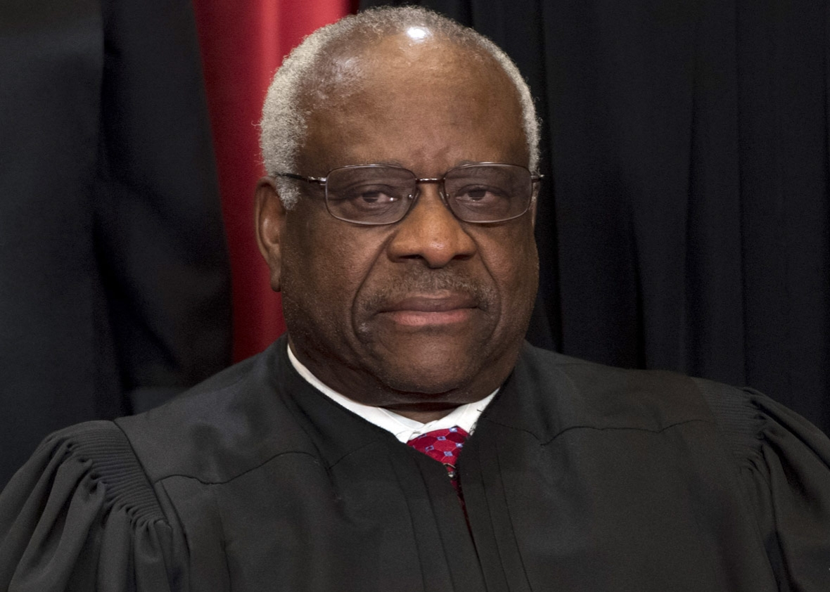 Image result for clarence thomas in 2017