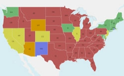 Mapping Which States Will Divorce Gay Couples And How It Will All
