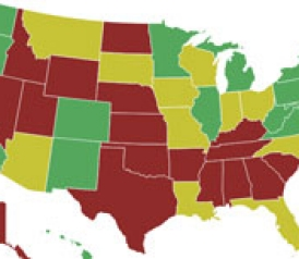 Gun control voting map shows which senators supported which amendments