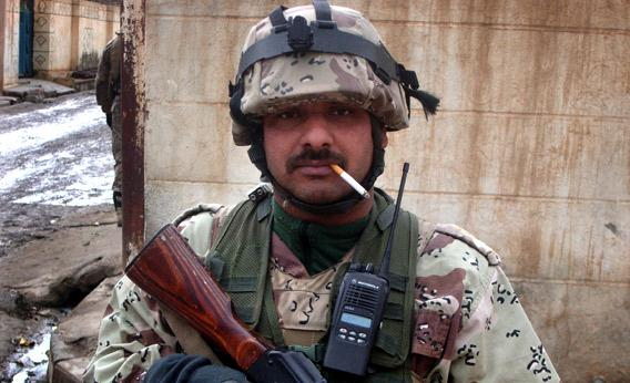 Capt. Dhafer, KIA in Mosul, 2009