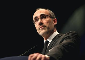 Arthur Brooks speaks at the CPAC in Washington, D.C., on Feb. 9, 2012.