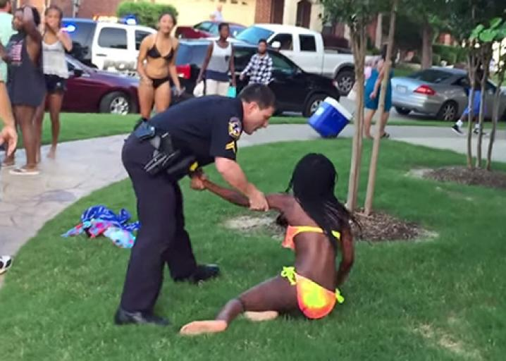 Mckinney texas police misconduct at swimming pool party for Garden pool party 2015
