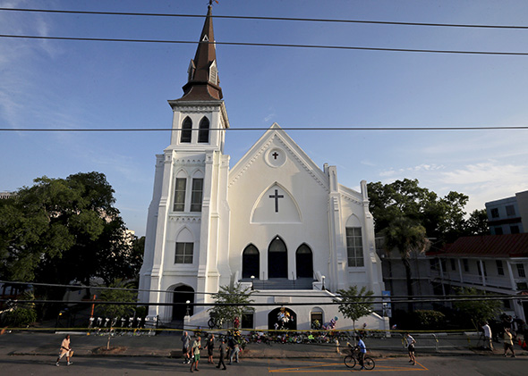 Emanuel African Methodist Episcopal Church in Charleston, South ,Emanuel African Methodist Episcopal Church in Charleston, South Carolina
