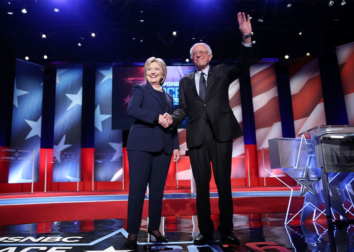 berniementum msnbc fifth democratic debate recap the hillary debate