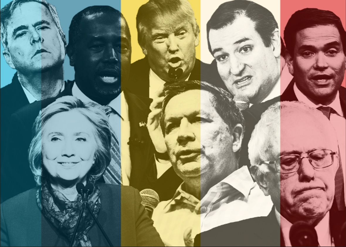 candidate collage.