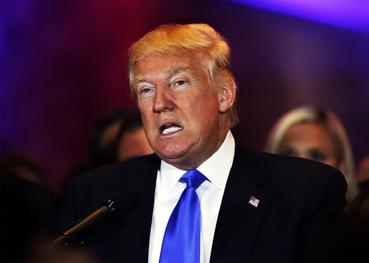 donald trump will be the republican nominee for president don t