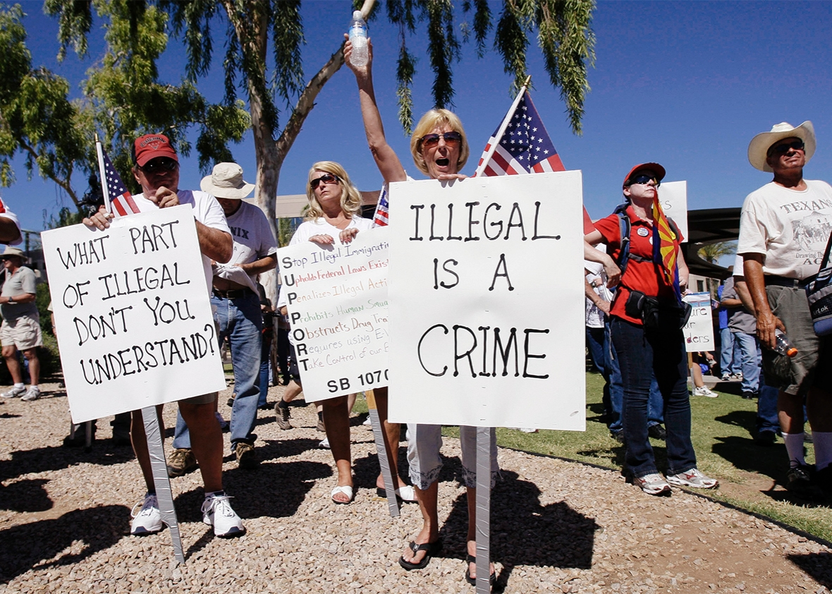 Arizona Immigration Protests