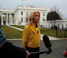 slate.com - Josh Voorhees - Is Kellyanne Conway breaking a major criminal conflict of interest statute?