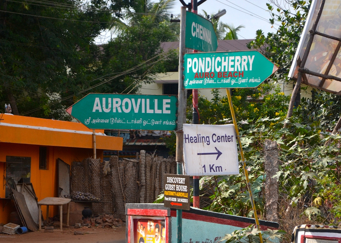 Auroville: India's famed utopian community struggles with