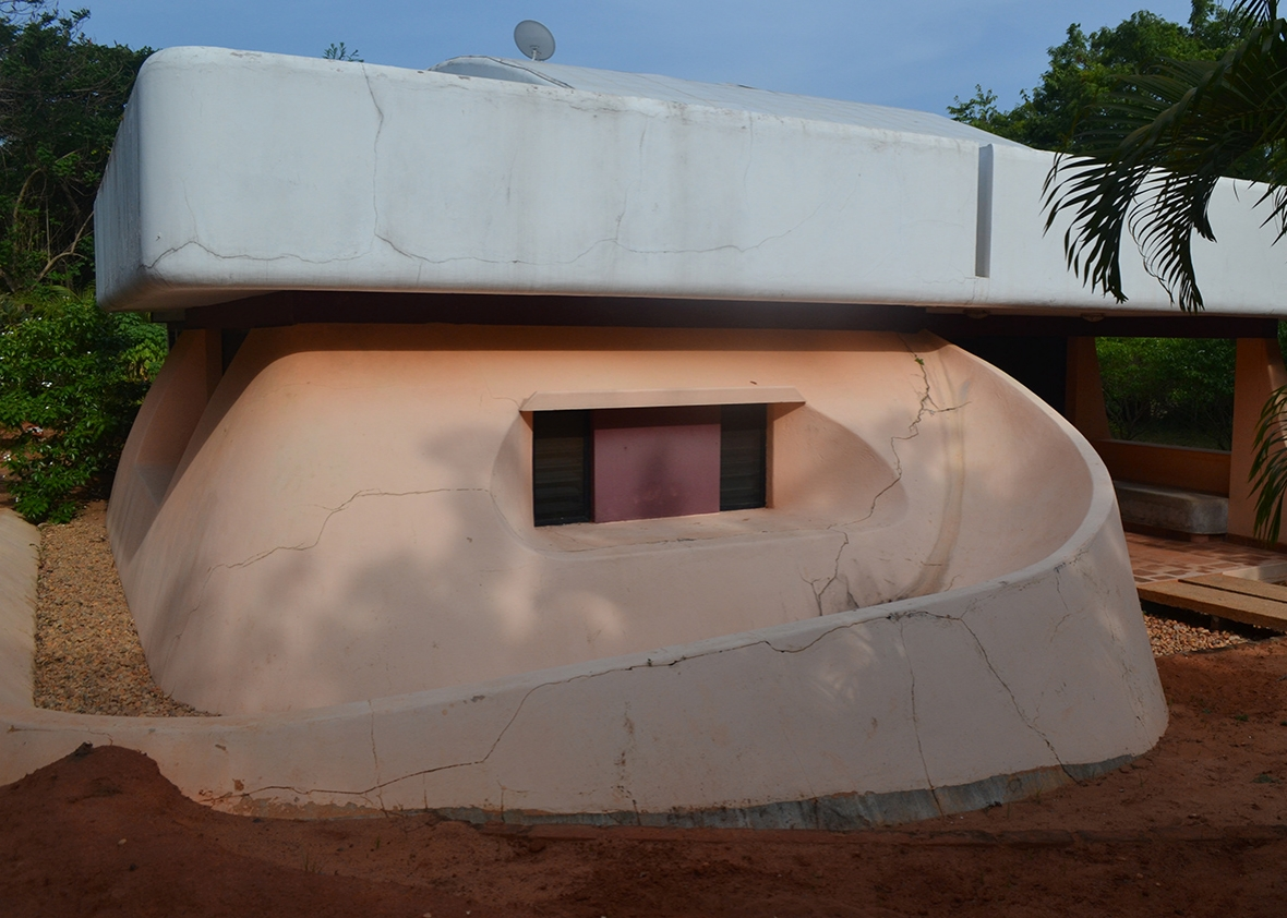 One of the oldest houses in Auroville, which was bought for 31 lakh ($49,000).