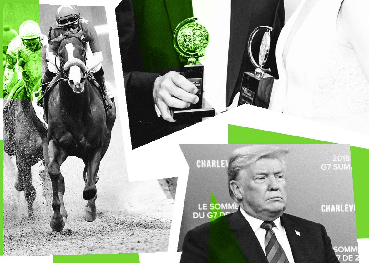 G-7, North Korea summit, and Triple Crown, in the Slate News