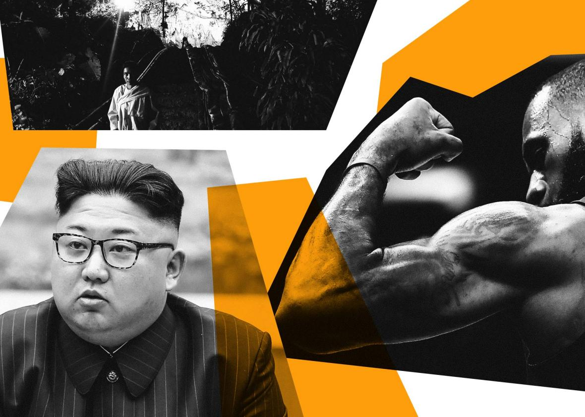 Kim Jong Un, Lebron James, a cave in the news this week.