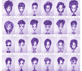Prince Hairstyles Every Hairdo From To In One - Dancer prince hairstyle