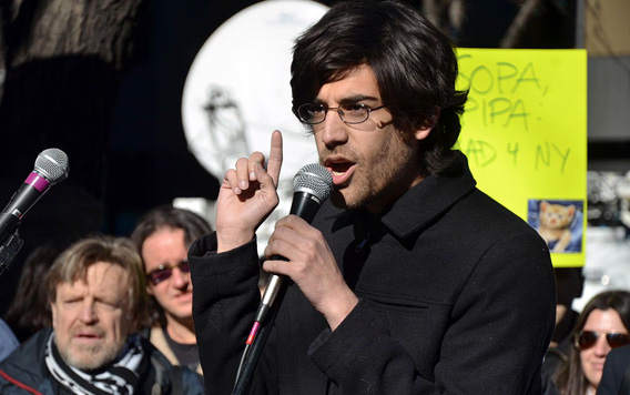 Demand Progress founder and director Aaron Swartz said in January 2012.
