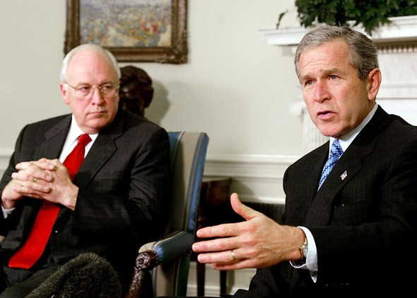george w bush and dick cheney