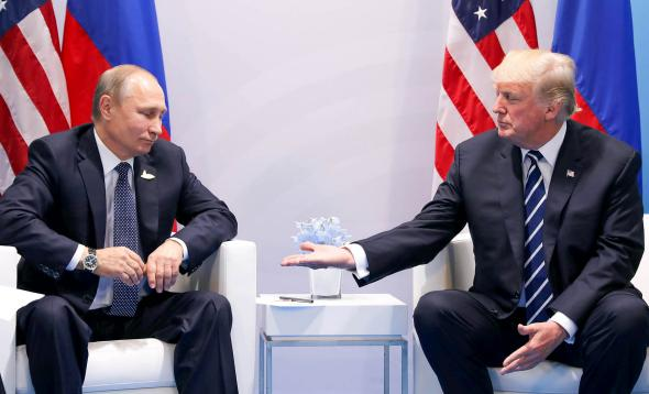 Trump Wants to Team With Putin to Prevent