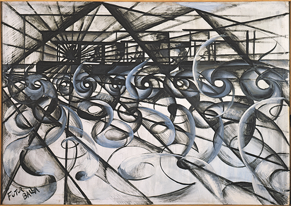 Giacomo Balla, Speeding Car