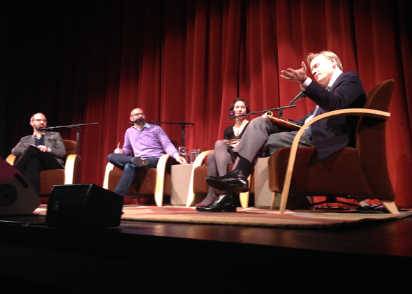 Live political gabfest in San Francisco.
