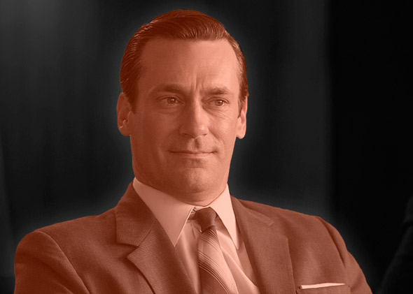 Don Draper of Mad Men.