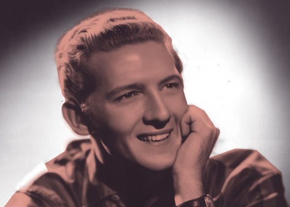 Jerry Lee Lewis publicity photo from the 1950s.