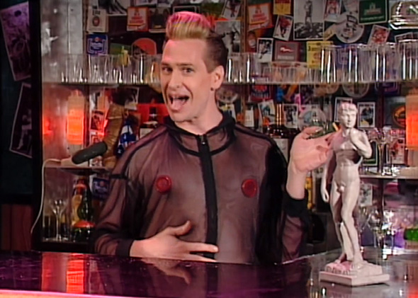 Scott Thompson as Buddy Cole from The Kids in the Hall